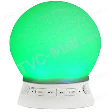 bluetooth 4 0 speaker led mood light app control support aux in tf card ts