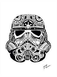 Day of the Dead Storm Trooper | Star wars art, Star wars sugar skull, Skull  hand tattoo