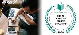 Top 10 Popular Online Diplomas & Certificates