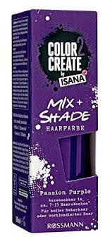 Testbericht De Color 2 Create By Isana Mix Shade Passion Purple