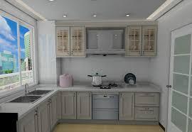Small Picture Renew White Kitchen Cabinet In Beautiful Apartment Interior Design