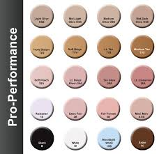 Ben Nye Color Chart Mehron Make Up Color Chart From Costumes Of Nashua Nh