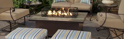 rectangular fire pits