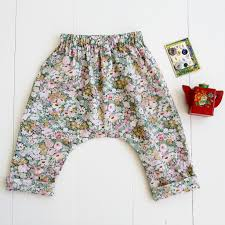 Pattern Pants Impressive Baby Toddler Harem Pants Sewing Pattern Wiksten