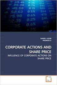 Corporate Actions And Share Price Influence Of Corporate