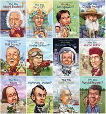 Who Was...? Children's Biography Series Set of 12 books: Roberta Edwards,  Janet Pascal, Joan Holub: Amazon.com: Books