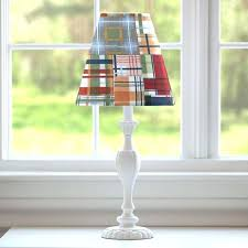 plaid lampshade medium size of patchwork shade carousel designs chandelier shades floor black tartan home buffalo