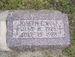 Joseph Eugene Wolf (1928-1928) - Find A Grave Memorial