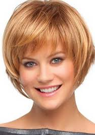 short hairstyles for round faces 126