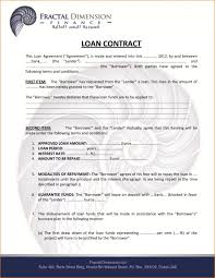 Loan Agreement Doc Business Loan Agreement Doc Template Employee Format India Form Uk 11