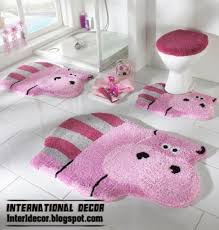 modern bathroom rugs and rug sets