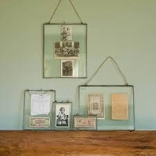 zinc hanging photo frame