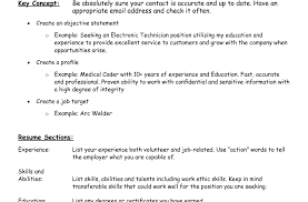Non Technical Resume Format Resume Template Easy Http Www