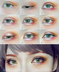 even though this tutorial was made for cosplayers this makeup style is also por among young fashionable s in tokyo accentuating puffy eye bags