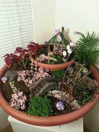 planter fairy garden