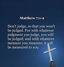 Christian Judgement Quotes Best Of Quotes About Judging Other Christians 24 Quotes