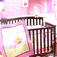winnie the pooh crib bedding pink pooh crib bedding set baby pooh bear crib bedding designs