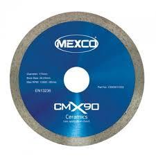 mexco 115 mm 4 5 inch ceramic tile cutting diamond