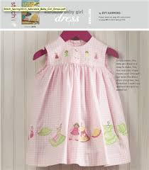 Free Sewing Patterns For Baby Simple Free Sewing Pattern Adorable Baby Girl Dress Sew Daily