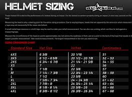 Bell Size Chart Bell Sport Mag Helmet White