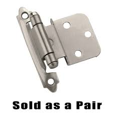 Self-Closing Face Mount Cabinet Hinges - Self Closing Face Mount 3 ...