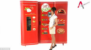Automated Pizza Maker Vending Machine