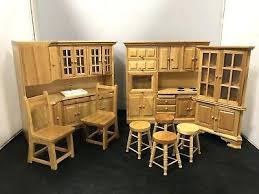 wood decorations for furniture. Dolls House Interiors Vintage Furniture Wooden Kitchen Set Decorating Games Wood Decorations For