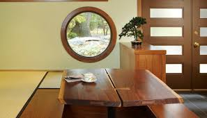 floor seating dining table. Floor Seating Dining Table Windows Door Ceiling Wood Asian Style