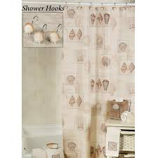 sarasota seas shower curtain and hooks