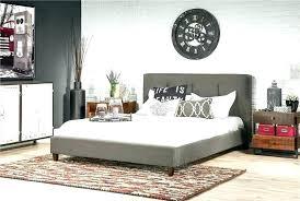 Living Spaces Bedroom Furniture King Platform Bedroom Set Bed Frame ...