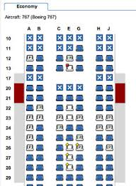 American Airlines 767 Seating Chart Seating Chart Of An Am