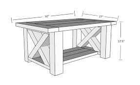 Coffee table designs diy Homemade Diy Farmhouse Coffee Table Plans Dimensions Enricoahrenscom Diy Chunky Farmhouse Coffee Table Diy Woodworking Plans Handmade