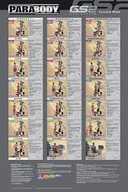 Multi Gym Exercise Chart 31 Rational Weider Home Gym Exercise Chart