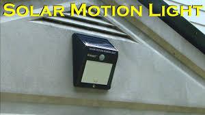 solar powered motion sensing 12 led waterproof light innoo tech you