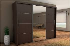 Small Picture Inova Sliding Door Wardrobe Wenge Dark Brown 250cm By Furniture