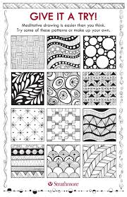 Pattern Drawing Mesmerizing Patterns For Meditative Drawing Strathmore Artist Papers