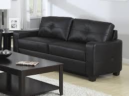jasmine black leather sofa by coaster 502721 black leather sofa