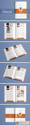 resume booklet resume booklet template vol 01 2161134 free download