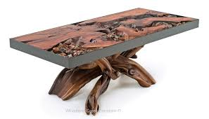 natural organic coffee table contemporary rustic coffee table