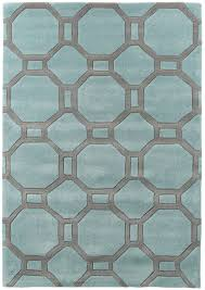 modern geometric design rug octagon amp rectangle 100