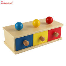 imbucare boxes montessori sensorial toys infant 8 12 months home games ball geometric shape educational safe wood lt008 3