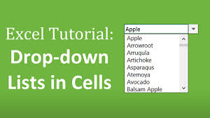 How To Create Drop Down Lists In Excel Complete Guide