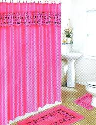 black and pink bathroom accessories. Black And Pink Bathroom Accessories Set With Circles Shower . E