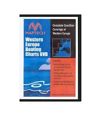 Maptech Boating Charts Dvd Western Europe
