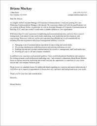 Cover Letter For Assistant Property Manager Sample Cover Letter For Property Management Job