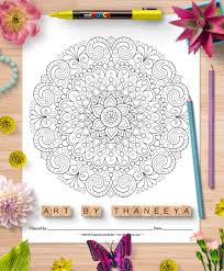 Check out our coloring pages selection for the very best in unique or custom, handmade detailed information can be found in etsy's cookies & similar technologies policy and our privacy policy. Detailed Mandala Coloring Pages By Thaneeya Mcardle Set Of 10 Printable Mandalas To Color Thaneeya Com