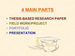 senior project the promise martin luther king ppt  4 main parts thesis based research paper field work project portfolio