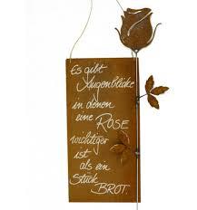 Blumen Aus Edelrost Rostdeko F R Den Garten Metallmichl