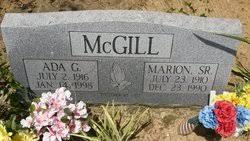 Ada Geneva Cooper McGill (1916-1998) - Find A Grave Memorial