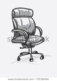 office chair drawing. Beautiful Office Monochrome Drawn Office Chair Intended Office Chair Drawing R